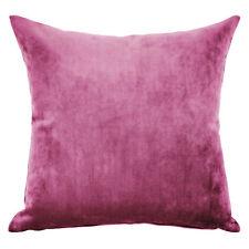 Mystere Boysenberry Velvet Cushion Cover
