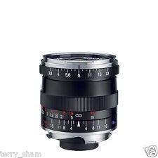 New Carl Zeiss Biogon T* 25mm F2.8 ZM Wide Angle Lens Black Leica M M9 M8.2