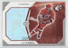 2003-04 SPx #17 Jeff O'Neill Carolina Hurricanes Hockey Card