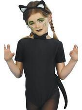 Halloween Costume per bambini Set GATTO ORECCHIE CODA Cravatta a farfalla