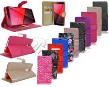 For Vodafone Smart N9 VFD 720 New Genuine Black Leather Wallet Phone Case Cover