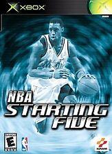 NBA Starting Five (Microsoft Xbox)