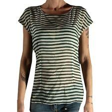113 maglia DOLCE&GABBANA D&G SETA donna t-shirt women