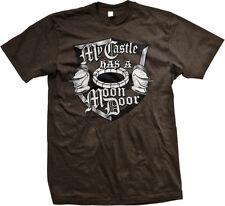 My Castle Has A Moon Door Television Show Rich Helmets House Open Men's T-Shirt