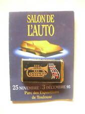 CARRÉ DE CHOCOLAT NOIR Pub SALON DE L'AUTO de TOULOUSE 1995