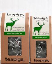 Mao Feng Green Tea Bags - Tea Pigs - Biodegradable Tea Temples - Green Tea 15/50