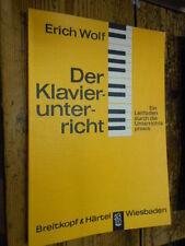 Der Klavierunterricht E. Wolf 1963 MI