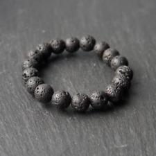 All Natural Spiritual Lava Rock Healing Yoga Bracelet Diffuser - UK Handmade