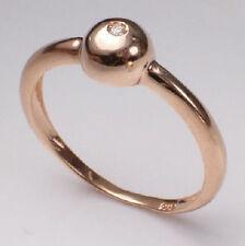 14k Pink (Rose) Solid Gold G - VS1 (100% eye clean) Diamond Ring 2.80 GR #R200