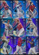 2018 Bowman Platinum Baseball BLUE #/150 & PURPLE #/250 PARALLEL Pick From List