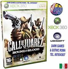 CALL OF JUAREZ BOUND IN BLOOD GIOCO NUOVO ITALIANO X360