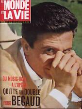 Gilbert Bécaud Le Monde et la Vie N° 97 de 1961