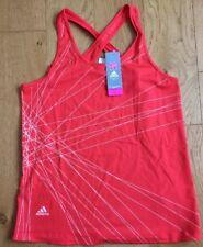 Adidas Orange Running Vest Top London Olympics X50402 Alexandra Gardner (15)