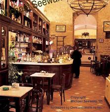 Master photographer Michael Seewald's 'Volterra Cafe, Tuscany', Italy '99 signed