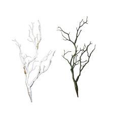 2 UNIDS 35 cm Plantas de Flores Artificiales Simulación Ramas de Ramas de