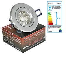 230V Bad Einbaustrahler von Kamilux Modell Balu K5042 & LED-Strahler 5W GU10