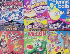 Fini Bubblegum Sweets liquid filled RETRO SWEETS Qty 25 - 50