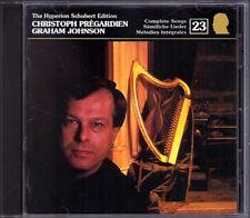 Christoph Pregardien: Schubert Edition 23 CD Hyperion la morte Oskar sera canzone