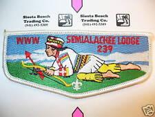 OA 239 Semialachee,S-18a,1980s PCH Face Flap, CD,CB, FL