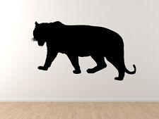 Tiger #1 - Big Cat Striped Predator Hunter Zoo Animal - Vinyl Wall Decal