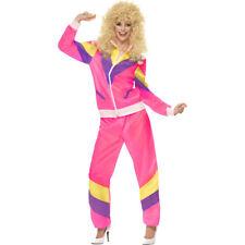 80er Jahre Kostüm Trainingsanzug Outfit Damen Jogginganzug Sportkostüm Fasching