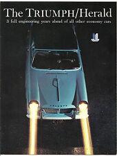 Triumph  Folder  Herald   1960
