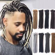12'' Short Synthetic Dreadlocks Twist Crochet Braid Dreads Men Hair Extensions
