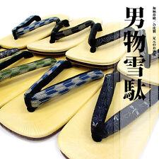 Men's Sandals Flip-flops Setta Zori Geta US 7-10  Japanese Kimono