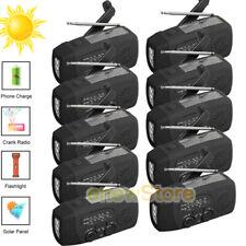 1000mAh Emergency LED Radio Solar Hand Crank AM/FM/NOAA Flashlight Phone Charger