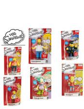 The Simpsons Talking Figures - Homer/Bart/Bob/Krusty/Barney/Chief Wiggum - New