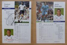 2003-04 Tottenham Hotspur Firmato Legenda le pagine del profilo-individualmente a un prezzo