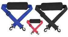 New Adjustable Replacement Shoulder Strap Padded Sling Hook Bag Packs Laptop Bag