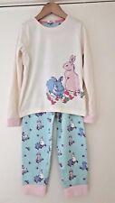 Girls New Ex John Lewis Long Sleeve Winter Pyjamas Age 3-11y Pj's Rabbits Floral