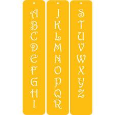 Designer Stencils Contemporary Monogram Letters