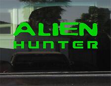 ALIEN HUNTER  8 INCH DIE CUT VINYL DECAL/STICKER