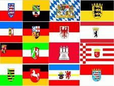 Deutsche Bundesländer & Regionen Auswahl Fahne Flagge