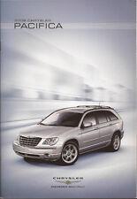 2008 08 Chrysler Pacifica sales brochure MINT