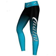 NATRA FITNESS Sublimation Legging Sport Training Pantaloni LYCRA TRASPIRANTE BLU