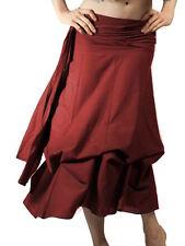 Steampunk Skirt, Falda de flamenco, falda de paracaídas, Falda Completa, ropa steampunk