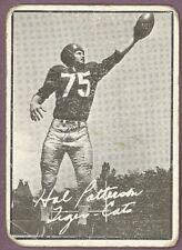 1961 TOPPS CFL FOOTBALL 56 HAL PATTERSON LGVG HAMILTON TIGER CATS UNIV OF KANSAS