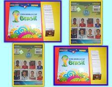 Panini WM 2014 Brasil Brasilien komplett 640 Sticker+Hardcover Album o.UpdateSet