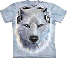 "The Mountain Maglietta "" BIANCO Wolf DJ """