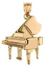 Gold Piano 3D Pendant Musical Chorus Band Instruments