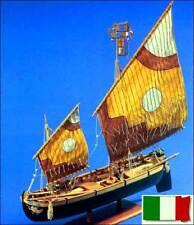BRAGOZZO Aeropiccola wood model boat ship KIT NEW Rare