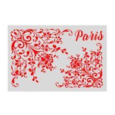 Layering Stencils For Walls Scrapbooking Stamp Album Decor Paper Card DIY Craft