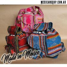 Mexican backpacks, Beach bag, Hippie, Baja backpack, Ethnic colourful design