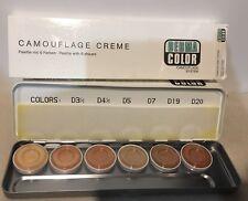 Kryolan Dermacolor Camouflage Creme Palette 6 Colors Pick D H M D1W - D6W 71007