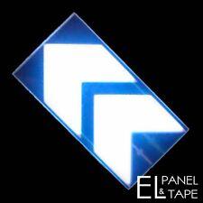 Glowing Chevron Arrow EL Panel-  Electroluminescent Glow Foil £4.00