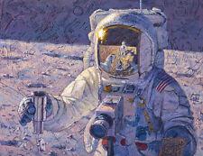 Alan Bean A NEW FRONTIER giclee canvas, Apollo 12, Pete Conrad #150/150