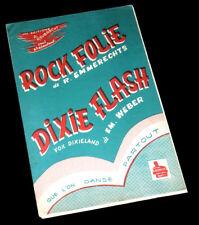 rock en folie rock anr roll combo accordéon saxos trompette 1956 Emmerechts